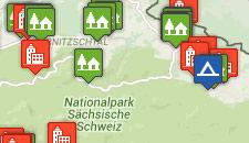 Unterkünfte in der Sächsischen Schweiz